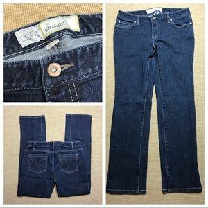 "Ann Taylor LOFT Jeans 10 Straight 30"" Inseam"